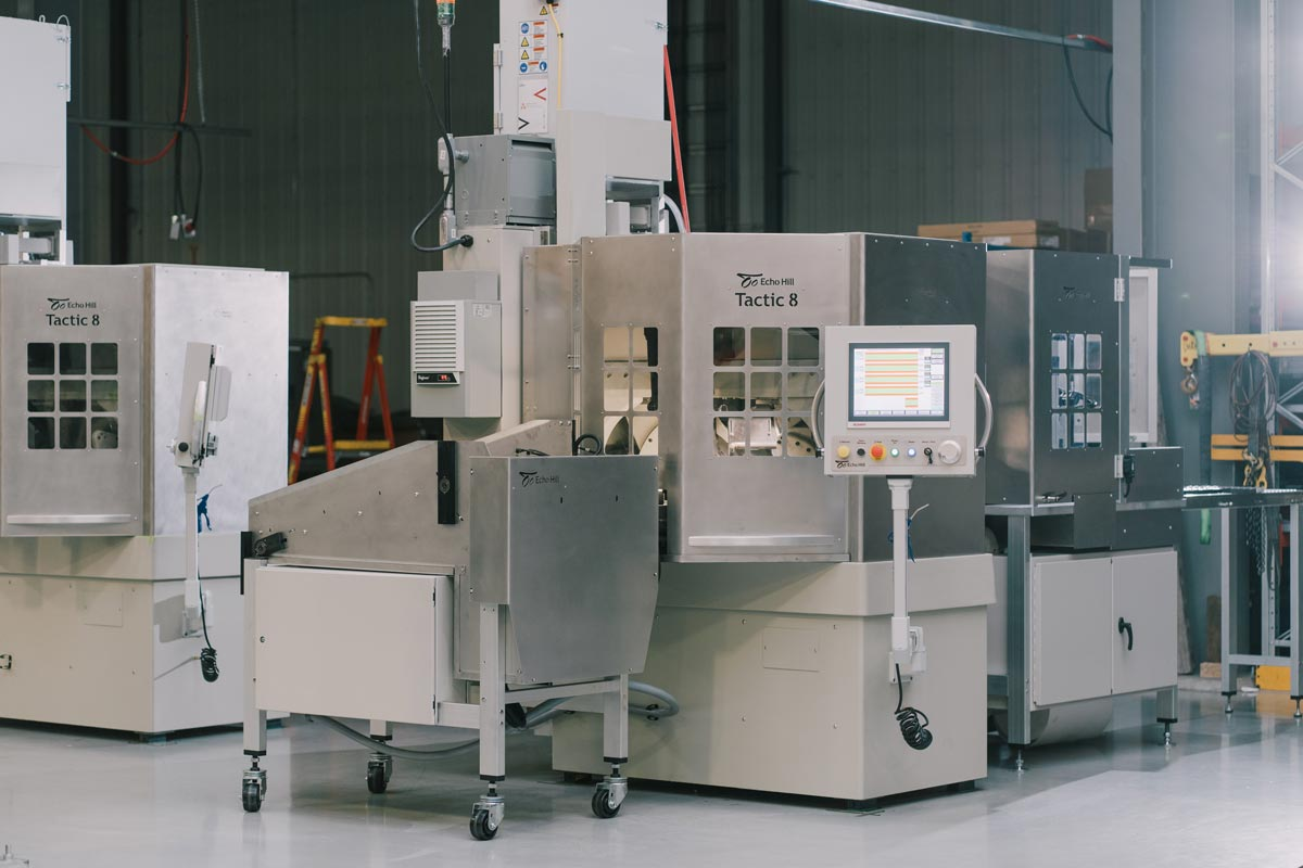 Automated centerless grinding will run 100% unattended.